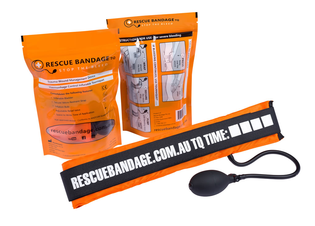 Rescue Bandage TQ Inflatable Tourniquet